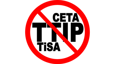 NEIN zu TTiP, CETA und TISA