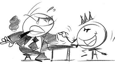 Verhandlung Armdrücken Kraftakt