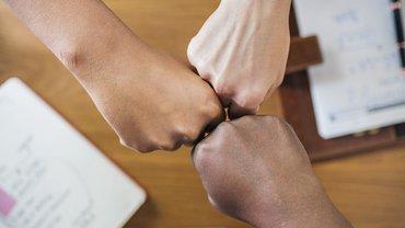 Einigung Abschluss Gemeinsam