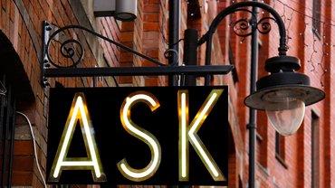 Fragen Frage stellen Beratung