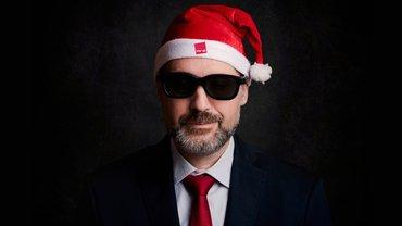 Weihnachten ver.di Weihnachtsmann Geschäftsmann